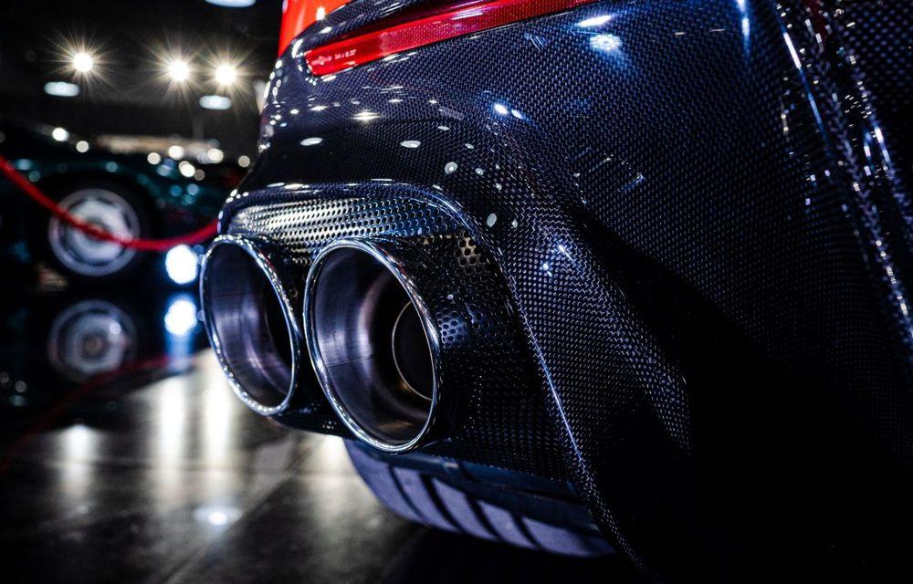 Galeria Țiriac Collection s-a îmbogățit cu un exemplar Ferrari Monza SP2: modelul este echipat cu cel mai puternic V12 aspirat natural din istoria companiei - Poza 6