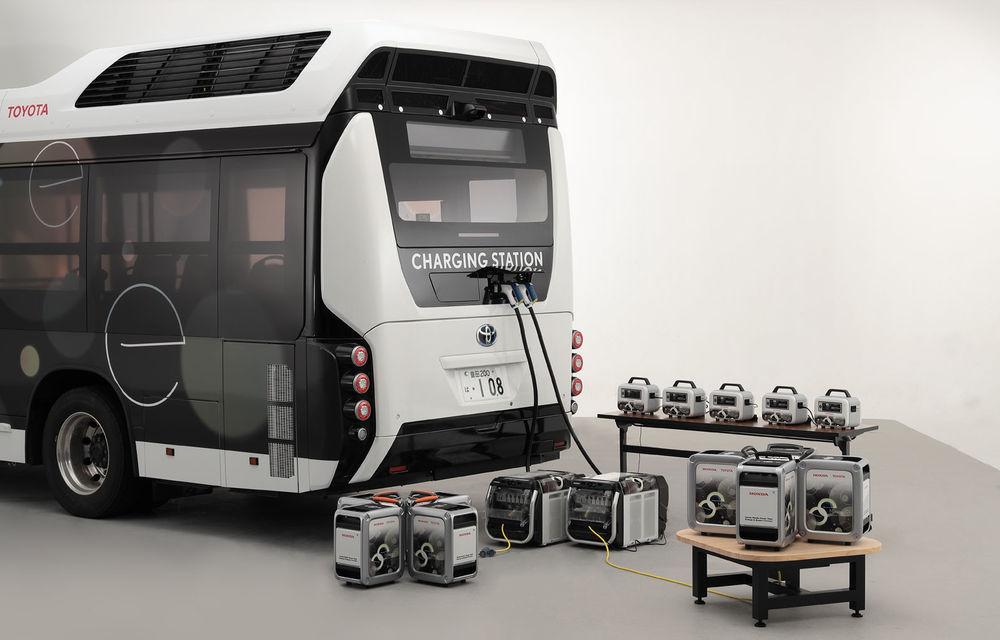 Toyota și Honda dezvoltă un generator mobil de energie electrică bazat pe hidrogen: tehnologia poate fi utilizată la dezastrele naturale - Poza 1