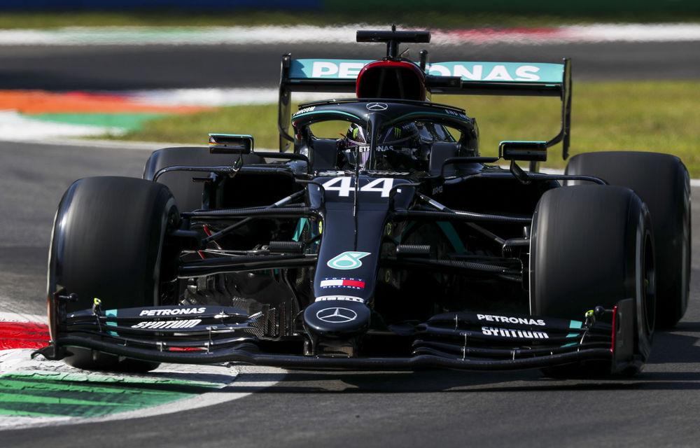 Hamilton, pole position la Monza în fața lui Bottas! Leclerc și Vettel vor pleca doar de pe locurile 13 și 17 - Poza 1