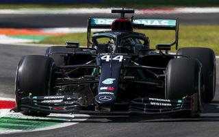 Hamilton, pole position la Monza în fața lui Bottas! Leclerc și Vettel vor pleca doar de pe locurile 13 și 17