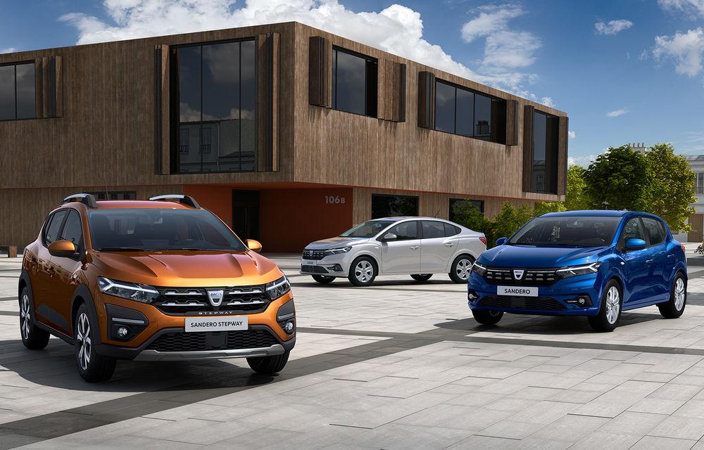 Primele imagini oficiale cu noile generații Dacia Logan, Sandero și Sandero Stepway: detaliile complete vor fi anunțate în 29 septembrie - Poza 1