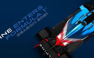 Renault va schimba numele echipei de Formula 1 în Alpine din sezonul 2021: noile culori vor fi albastru, alb și roșu