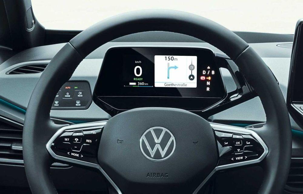"""Facem cunoștință cu mașinile din #ElectricRomânia 2020: Volkswagen ID.3 - vom avea alături de noi și """"Golf-ul electricelor"""" - Poza 15"""