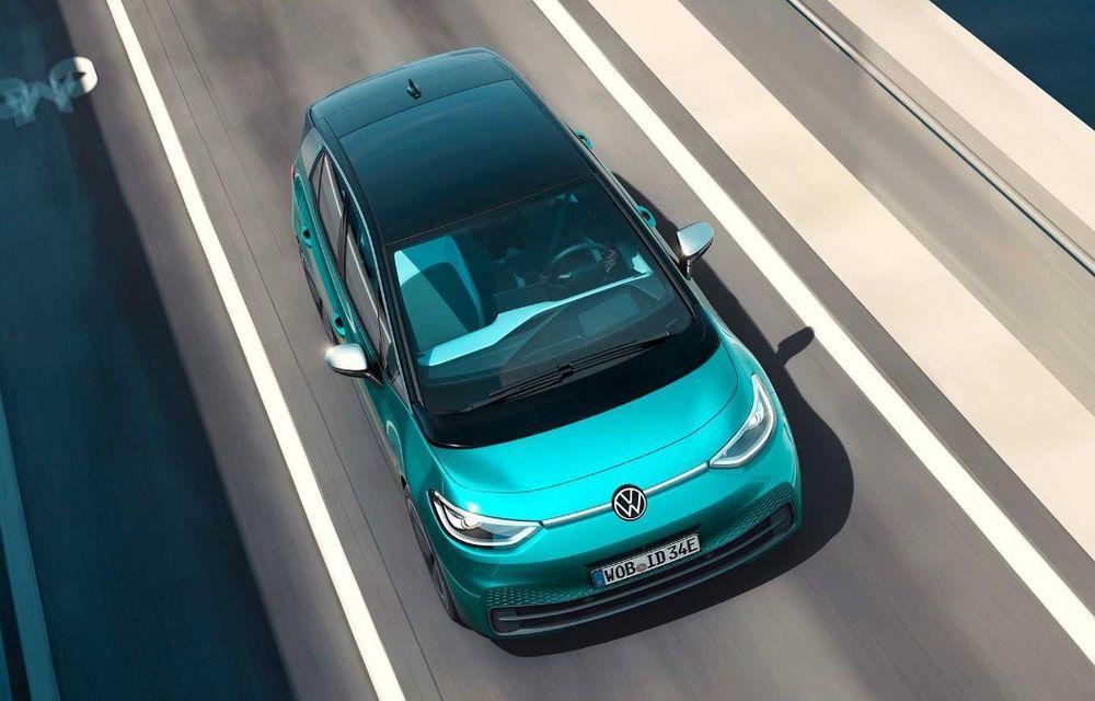 """Facem cunoștință cu mașinile din #ElectricRomânia 2020: Volkswagen ID.3 - vom avea alături de noi și """"Golf-ul electricelor"""" - Poza 3"""