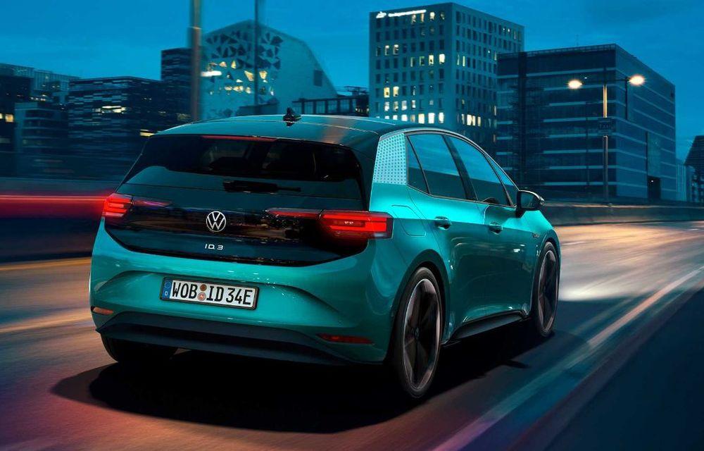 """Facem cunoștință cu mașinile din #ElectricRomânia 2020: Volkswagen ID.3 - vom avea alături de noi și """"Golf-ul electricelor"""" - Poza 9"""