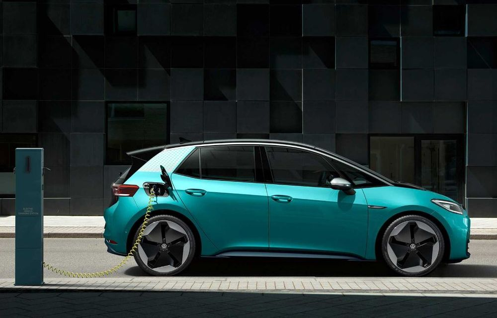 """Facem cunoștință cu mașinile din #ElectricRomânia 2020: Volkswagen ID.3 - vom avea alături de noi și """"Golf-ul electricelor"""" - Poza 6"""