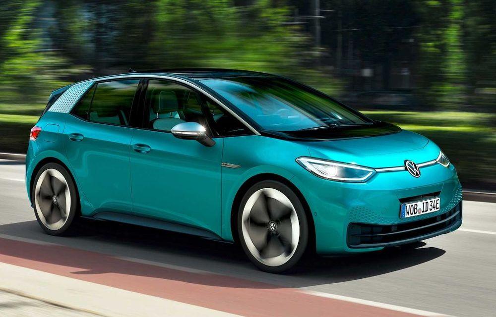 """Facem cunoștință cu mașinile din #ElectricRomânia 2020: Volkswagen ID.3 - vom avea alături de noi și """"Golf-ul electricelor"""" - Poza 1"""
