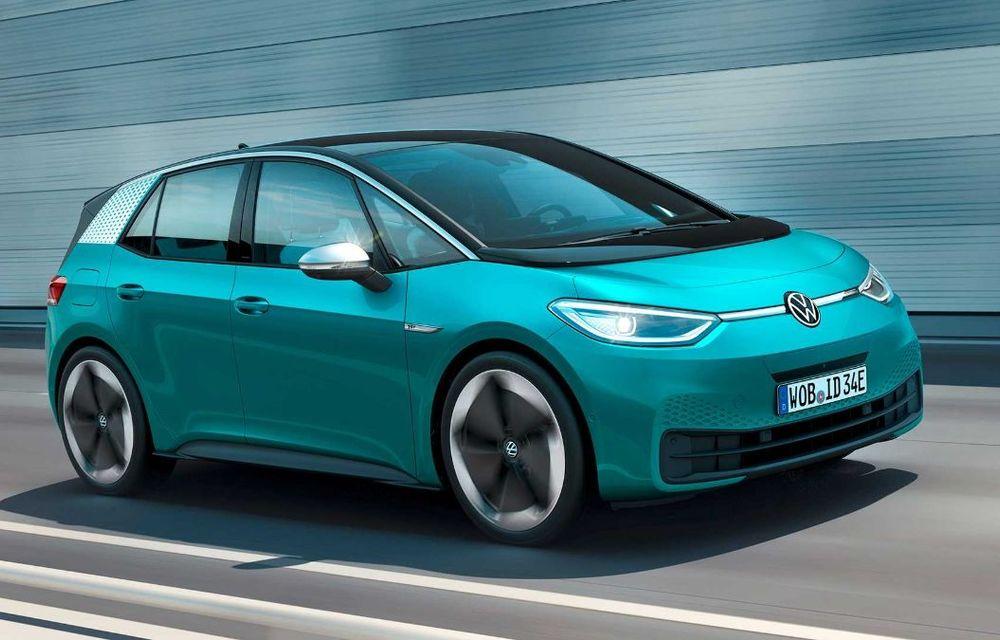 """Facem cunoștință cu mașinile din #ElectricRomânia 2020: Volkswagen ID.3 - vom avea alături de noi și """"Golf-ul electricelor"""" - Poza 2"""