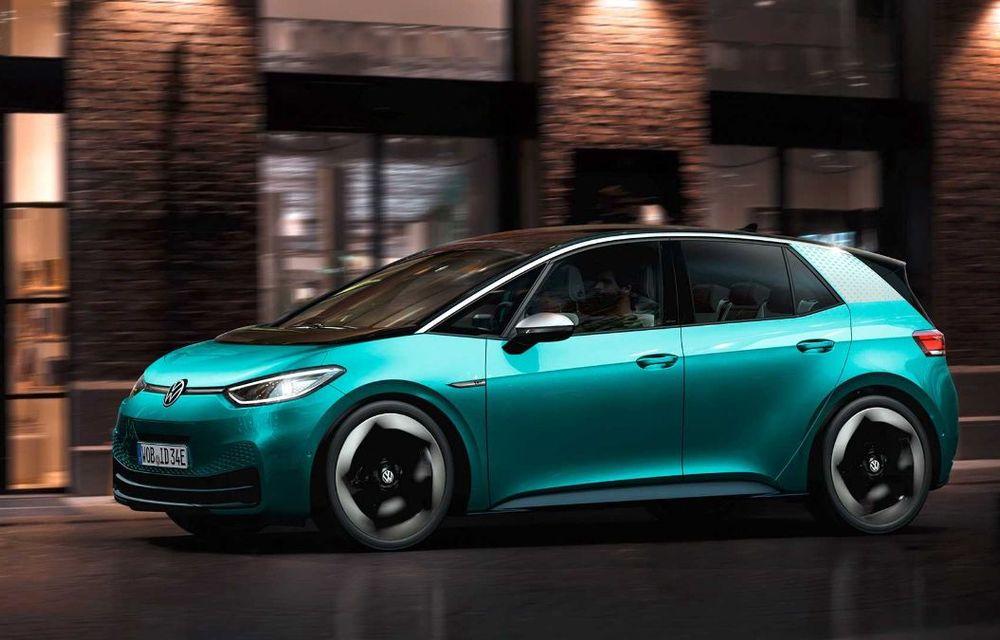 """Facem cunoștință cu mașinile din #ElectricRomânia 2020: Volkswagen ID.3 - vom avea alături de noi și """"Golf-ul electricelor"""" - Poza 7"""
