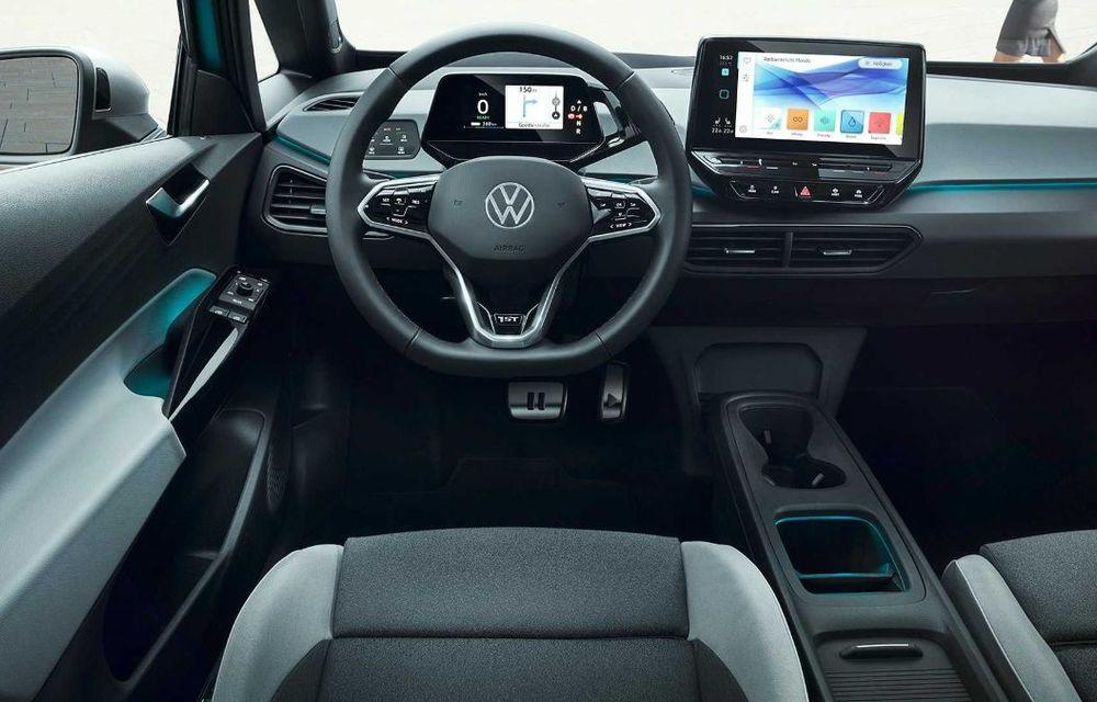 """Facem cunoștință cu mașinile din #ElectricRomânia 2020: Volkswagen ID.3 - vom avea alături de noi și """"Golf-ul electricelor"""" - Poza 14"""