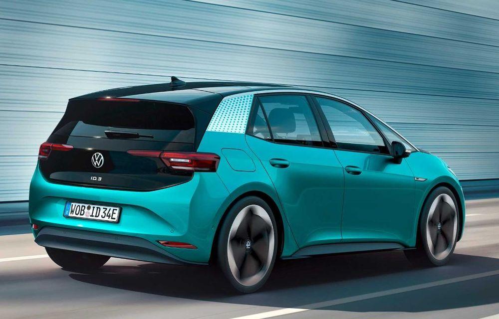 """Facem cunoștință cu mașinile din #ElectricRomânia 2020: Volkswagen ID.3 - vom avea alături de noi și """"Golf-ul electricelor"""" - Poza 4"""