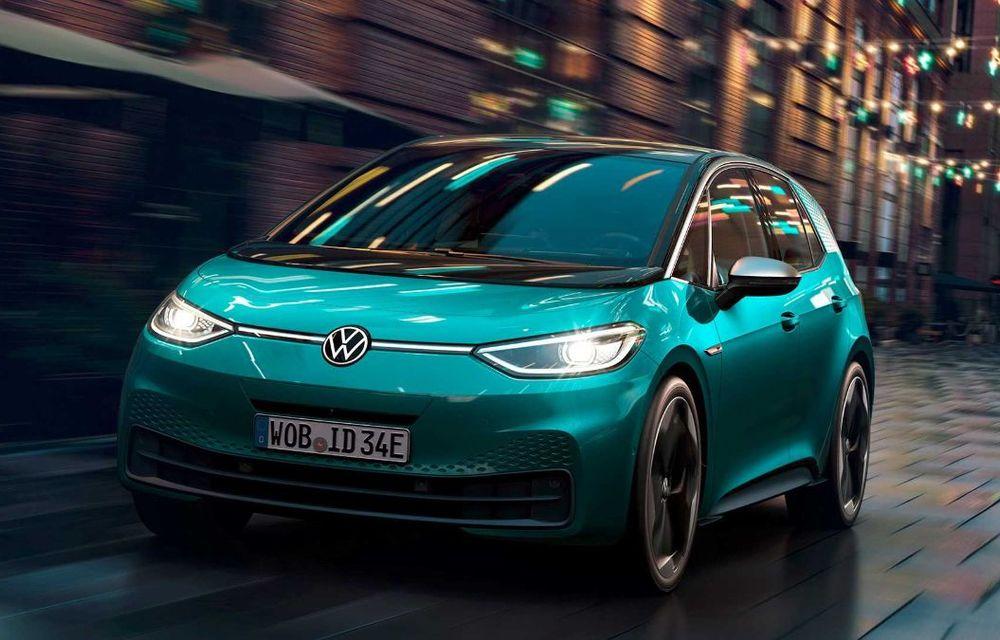 """Facem cunoștință cu mașinile din #ElectricRomânia 2020: Volkswagen ID.3 - vom avea alături de noi și """"Golf-ul electricelor"""" - Poza 8"""