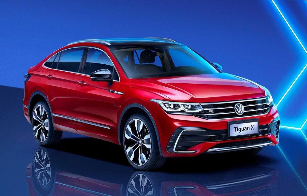 Volkswagen a prezentat noul Tiguan X: versiunea coupe a SUV-ului compact este disponibilă doar în China - Poza 1