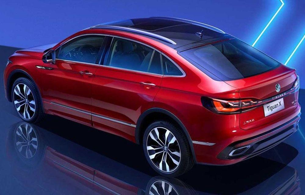 Volkswagen a prezentat noul Tiguan X: versiunea coupe a SUV-ului compact este disponibilă doar în China - Poza 3
