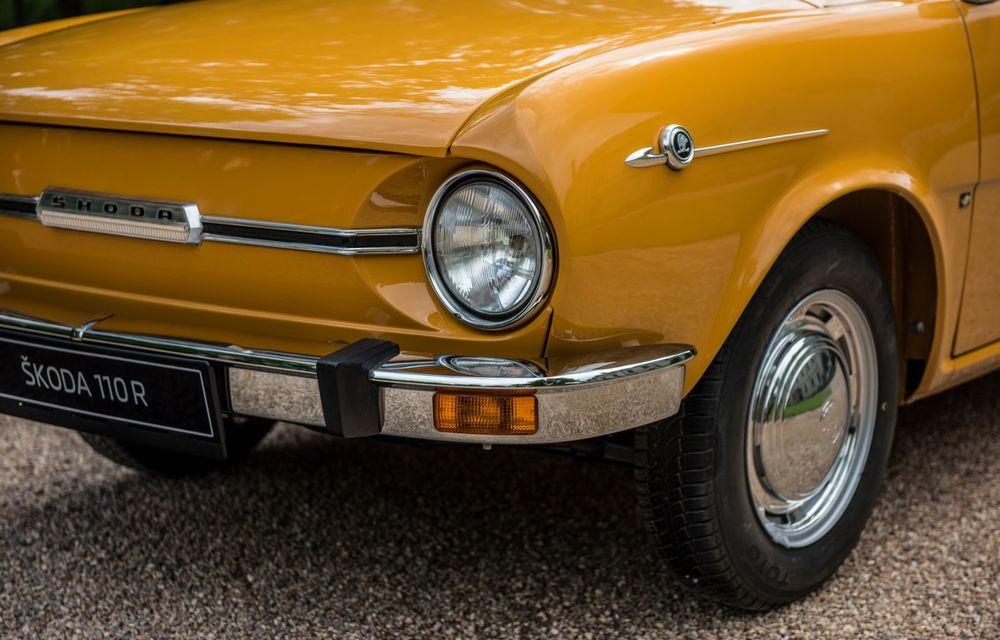 Aniversare în familia Skoda: coupe-ul 110 R împlinește 50 de ani de la debut - Poza 6