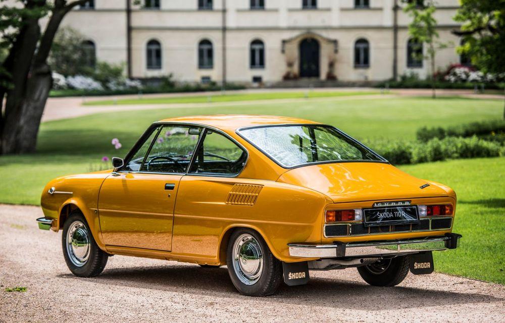 Aniversare în familia Skoda: coupe-ul 110 R împlinește 50 de ani de la debut - Poza 4