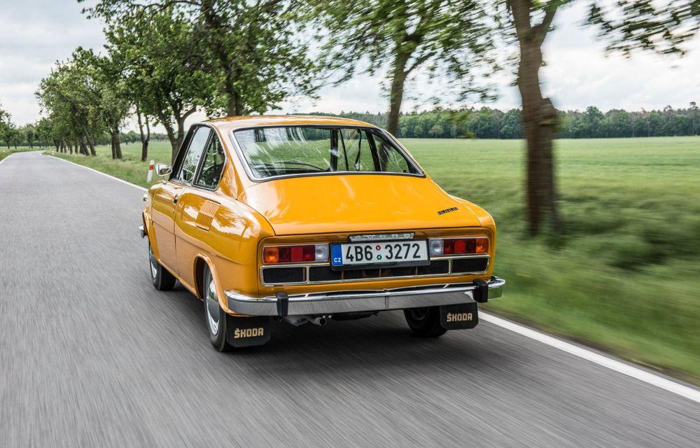 Aniversare în familia Skoda: coupe-ul 110 R împlinește 50 de ani de la debut - Poza 5