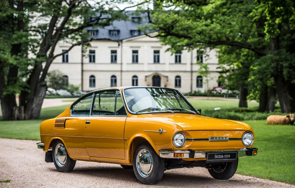 Aniversare în familia Skoda: coupe-ul 110 R împlinește 50 de ani de la debut - Poza 2