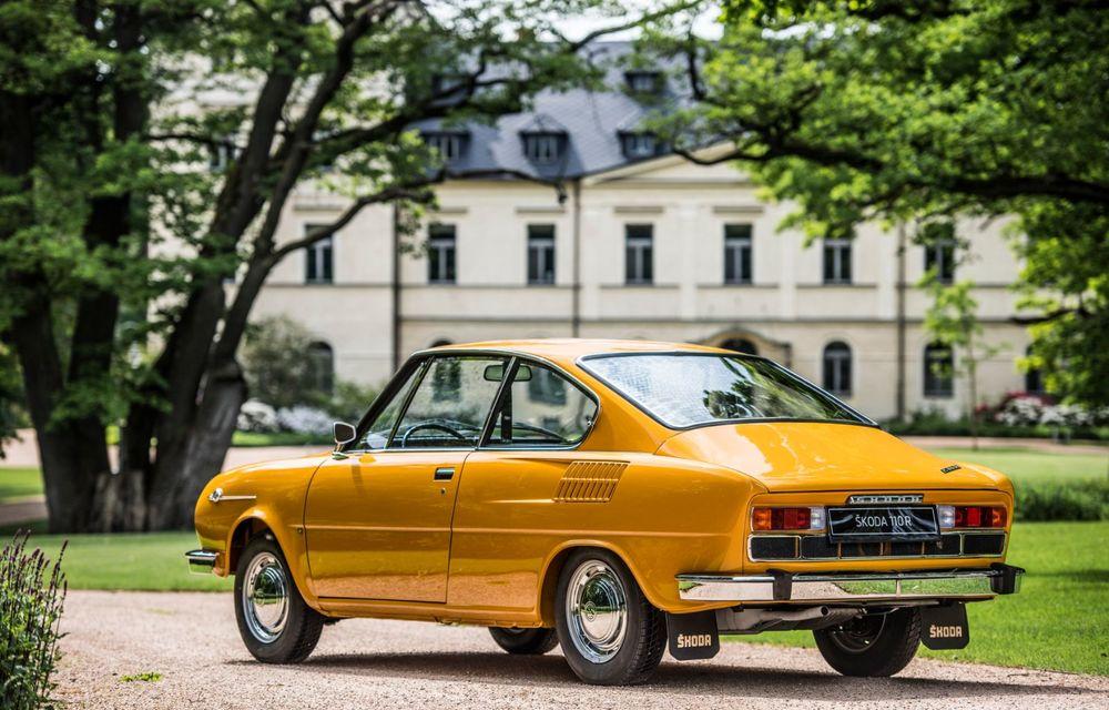 Aniversare în familia Skoda: coupe-ul 110 R împlinește 50 de ani de la debut - Poza 3