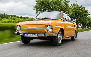 Aniversare în familia Skoda: coupe-ul 110 R împlinește 50 de ani de la debut
