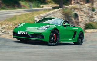 Noutăți pentru Porsche 718 Cayman și 718 Boxster: transmisie automată cu șapte trepte pentru versiunile GTS 4.0, GT4 și Spyder