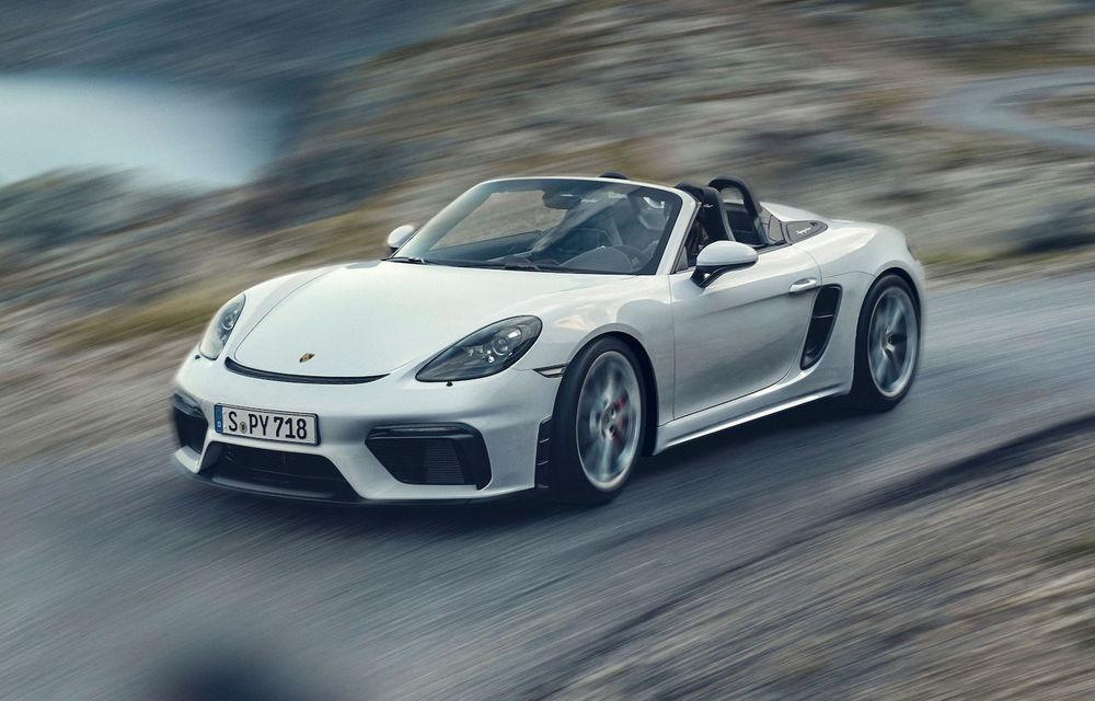 Noutăți pentru Porsche 718 Cayman și 718 Boxster: transmisie automată cu șapte trepte pentru versiunile GTS 4.0, GT4 și Spyder - Poza 5