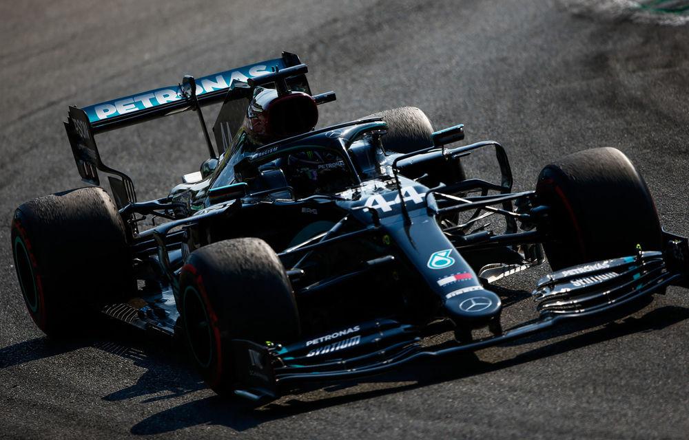 """Mercedes dezvăluie greșeala care a condus la penalizarea lui Hamilton la Monza: """"Nimeni nu a observat mesajul de avertizare pe monitoare"""" - Poza 1"""