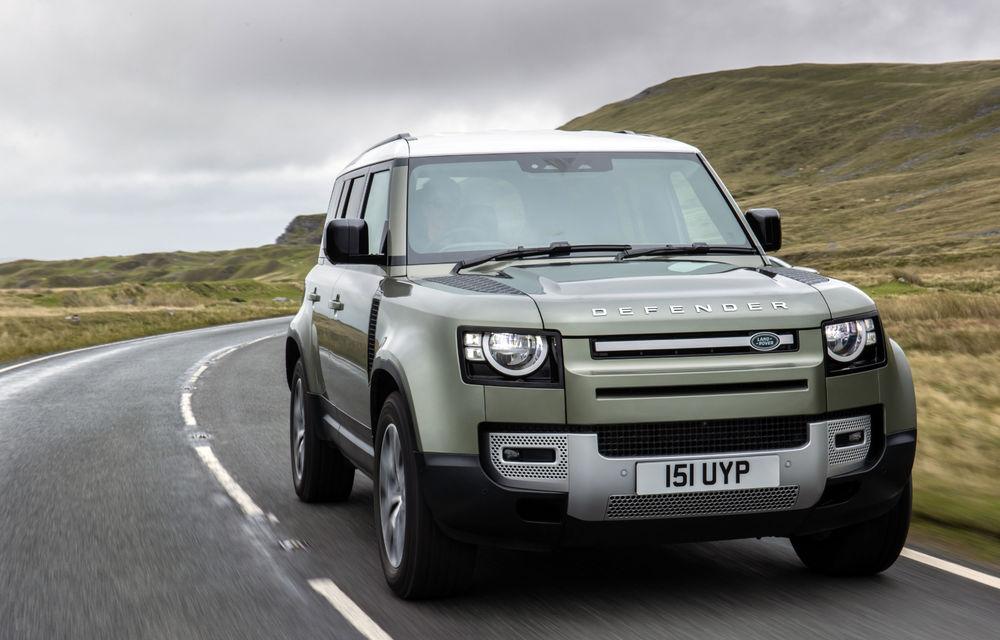 Land Rover Defender primește versiune plug-in hybrid: peste 400 de cai putere și autonomie de 43 de kilometri - Poza 22
