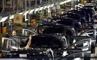 Producția auto națională după primele 8 luni: creștere de aproape 14% pentru Ford, în timp ce Dacia înregistrează o scădere de peste 36%