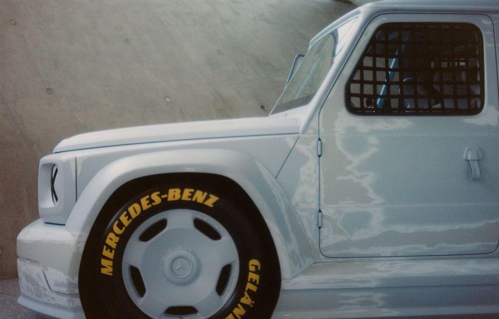 Mercedes a prezentat unicatul Project Geländewagen: modelul are la bază actualul Clasa G și dispune de modificări specifice modelelor de competiții - Poza 5