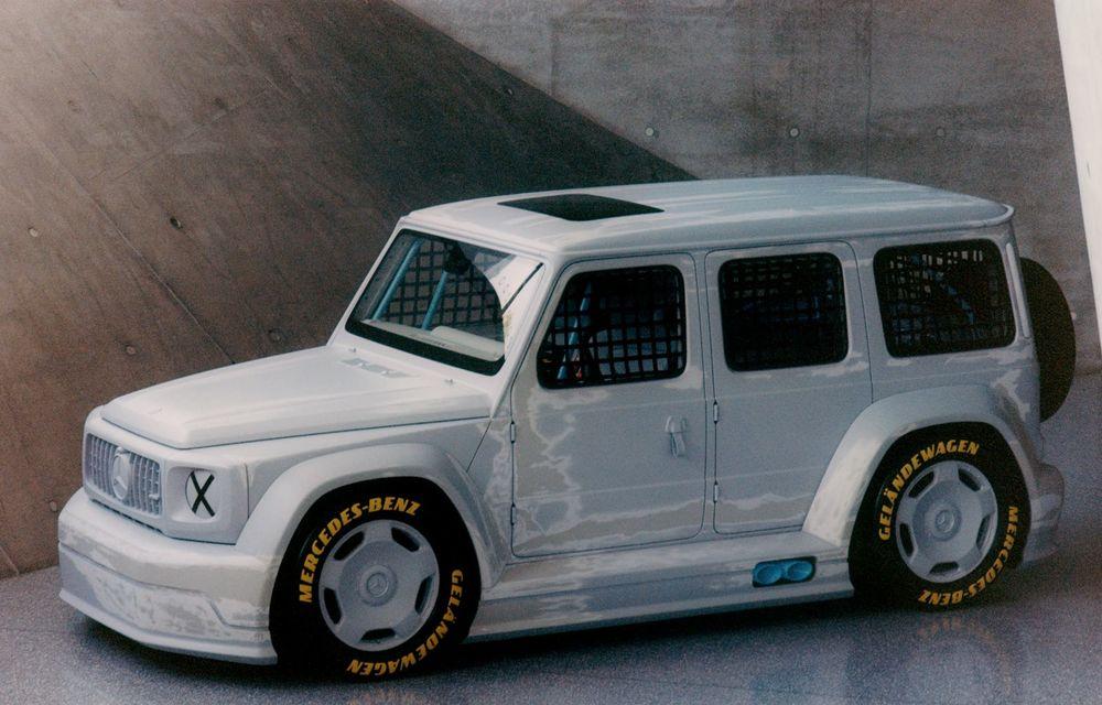 Mercedes a prezentat unicatul Project Geländewagen: modelul are la bază actualul Clasa G și dispune de modificări specifice modelelor de competiții - Poza 2