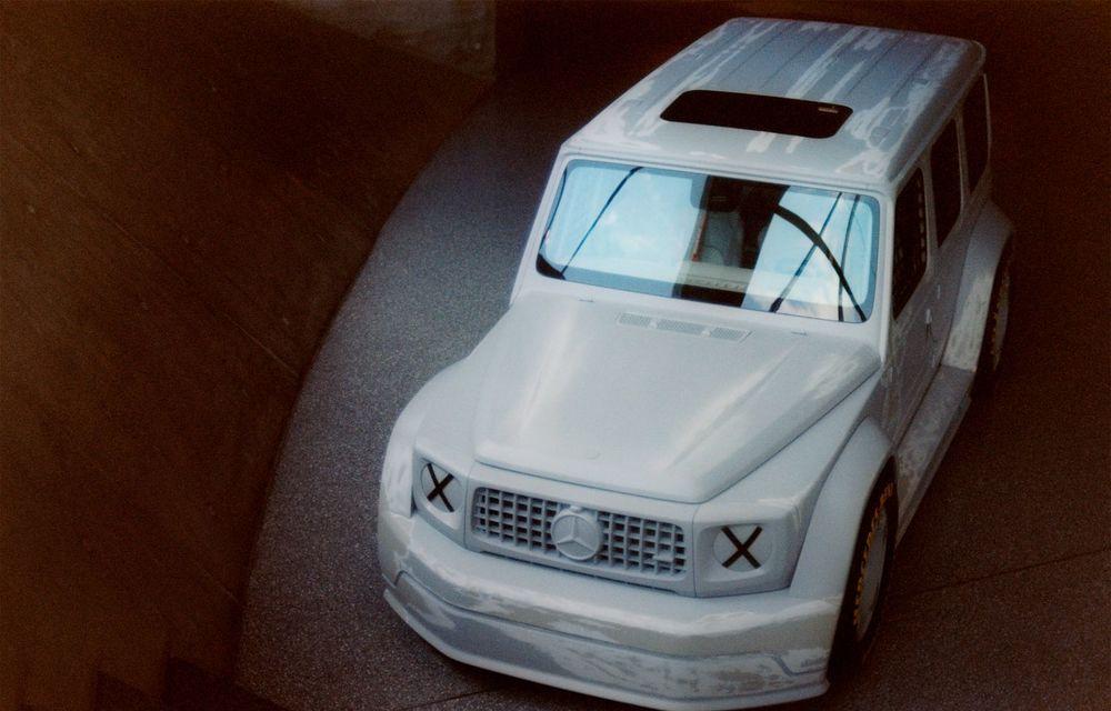 Mercedes a prezentat unicatul Project Geländewagen: modelul are la bază actualul Clasa G și dispune de modificări specifice modelelor de competiții - Poza 3