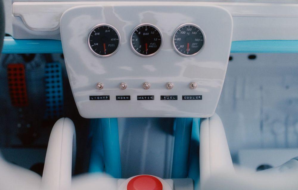 Mercedes a prezentat unicatul Project Geländewagen: modelul are la bază actualul Clasa G și dispune de modificări specifice modelelor de competiții - Poza 16