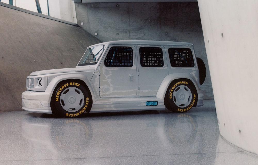 Mercedes a prezentat unicatul Project Geländewagen: modelul are la bază actualul Clasa G și dispune de modificări specifice modelelor de competiții - Poza 1