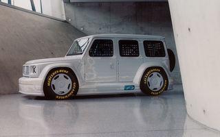 Mercedes a prezentat unicatul Project Geländewagen: modelul are la bază actualul Clasa G și dispune de modificări specifice modelelor de competiții