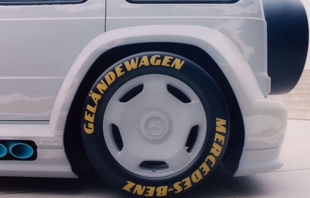 Mercedes a prezentat unicatul Project Geländewagen: modelul are la bază actualul Clasa G și dispune de modificări specifice modelelor de competiții - Poza 6