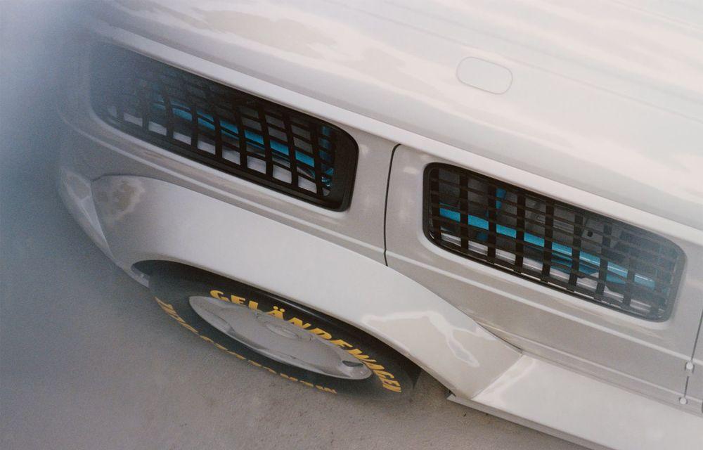 Mercedes a prezentat unicatul Project Geländewagen: modelul are la bază actualul Clasa G și dispune de modificări specifice modelelor de competiții - Poza 8