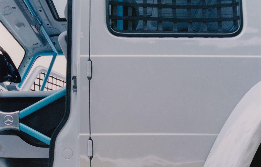 Mercedes a prezentat unicatul Project Geländewagen: modelul are la bază actualul Clasa G și dispune de modificări specifice modelelor de competiții - Poza 12