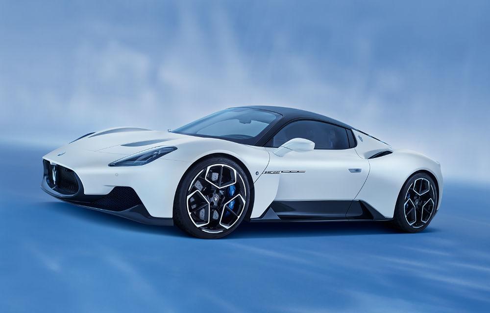 Maserati a prezentat noul MC20: supercar-ul cu motor V6 de 630 CP are o viteză de top mai mare de 325 km/h - Poza 1