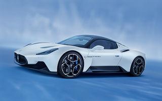 Maserati a prezentat noul MC20: supercar-ul cu motor V6 de 630 CP are o viteză de top mai mare de 325 km/h