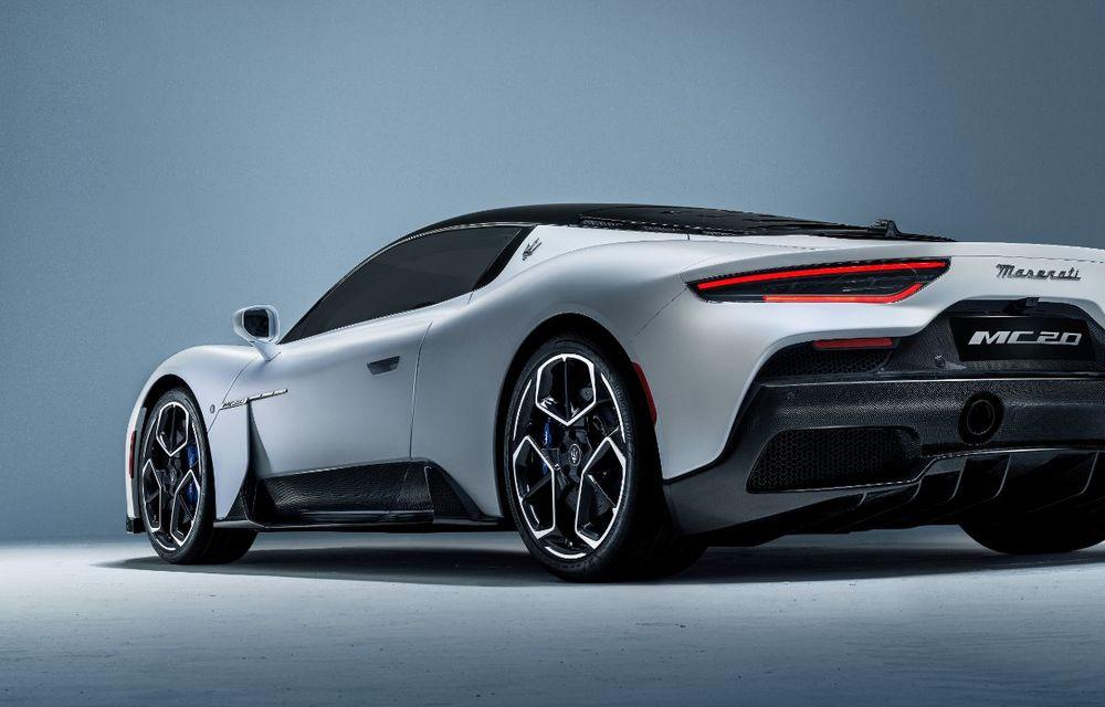 Maserati a prezentat noul MC20: supercar-ul cu motor V6 de 630 CP are o viteză de top mai mare de 325 km/h - Poza 3