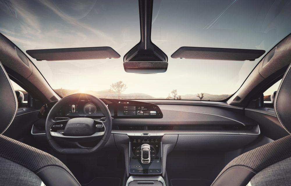 Sedanul electric Lucid Air a fost prezentat: rivalul lui Tesla Model S are până la 1.080 de cai putere și autonomie de până la 827 de kilometri - Poza 9
