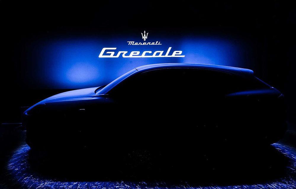 Primul teaser cu viitorul Maserati Grecale: noul SUV va fi prezentat la începutul anului 2021 - Poza 1