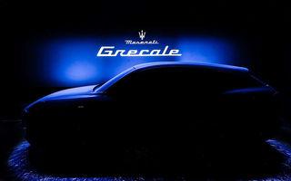 Primul teaser cu viitorul Maserati Grecale: noul SUV va fi prezentat la începutul anului 2021