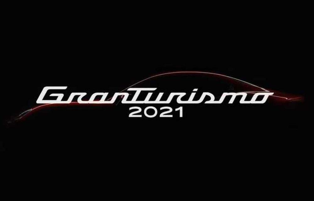 Teaser pentru noua generație Maserati GranTurismo: modelul va fi prezentat în 2021 și va avea versiune electrică - Poza 1