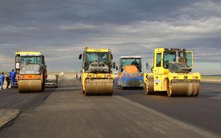 Video: Lucrările la primul tronson din autostrada Sibiu - Pitești au ajuns la un grad de realizare de 20%
