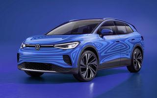 Video. Volkswagen publică imagini cu un prototip pentru ID.4: SUV-ul electric va fi prezentat în 24 septembrie