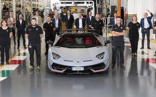 Lamborghini Aventador a ajuns la 10.000 de unități vândute: performanța a fost atinsă în 9 ani de la lansare