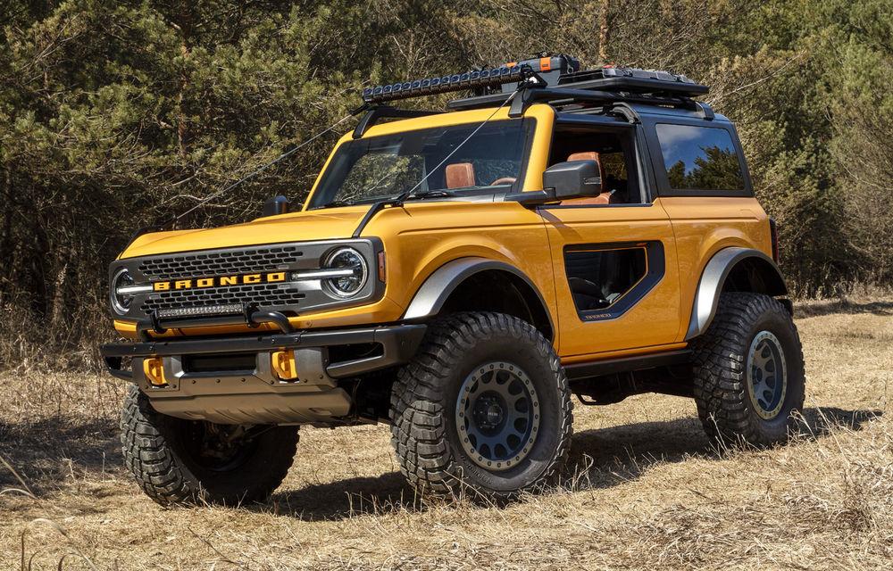 Producția lui Ford Bronco ar putea începe în martie 2021: peste 230.000 de pre-comenzi înregistrate - Poza 1