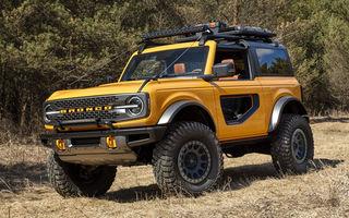 Producția lui Ford Bronco ar putea începe în martie 2021: peste 230.000 de pre-comenzi înregistrate